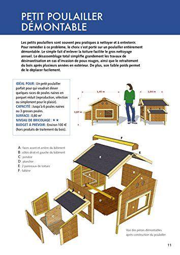 Amazon Fr Construire Un Poulailler 12 Modeles A Realiser Soi Meme Herve Husson Livres Construire Un Poulailler Poulailler Poulailler Palette