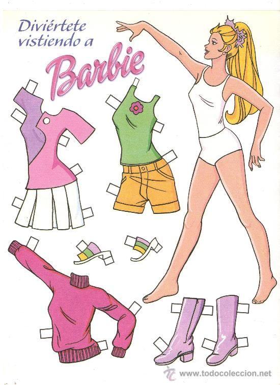 TODORECORTABLES SUEÑOS DE PAPEL: BARBIE RECORTABLES | muñecas ...