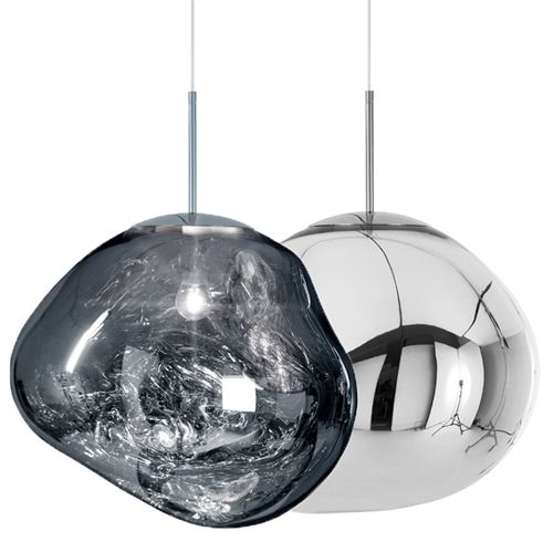 Tom Dixon Melt Silver Pendel Tom Dixon Melt Tom Dixon Lighting Tom Dixon