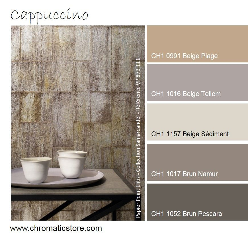Couleur Cappuccino Mur Idees