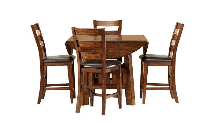 Slumberland Furniture Brook Collection Counter Dining Set