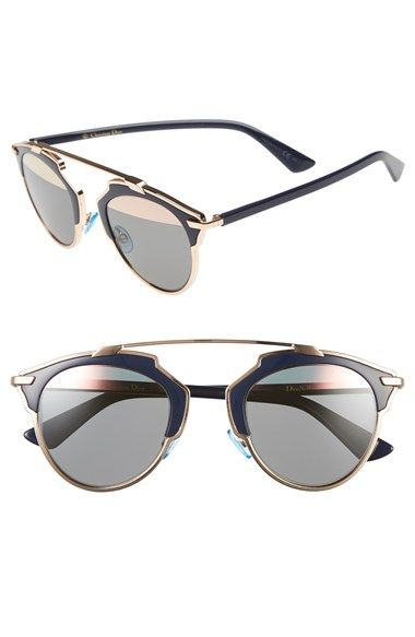 ee3a2bb961 A modern re-design of vintage-inspired black and gold sunglasses
