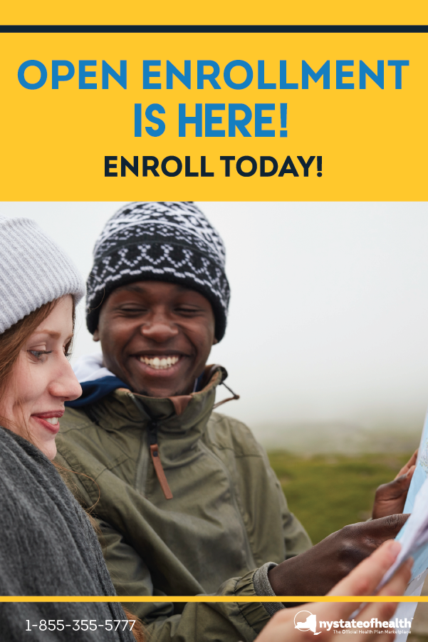 Open Enrollment Is Here And Enrollees Who Are New To Ny State Of Health Can Now Enroll In A Qualified Health Plan For 2020 Fin Health Plan How To Plan Health