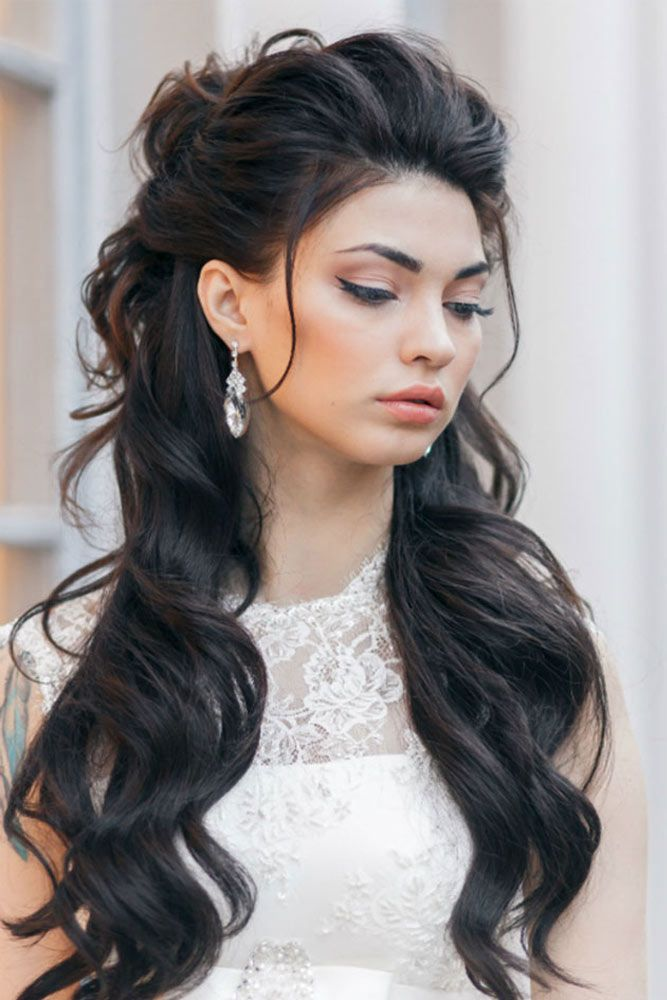 Good Christmas Party Hairstyles For Wavy Hair ☆ See More:  Http://lovehairstyles.com/christmas Party Hairstyles For Wavy Hair/