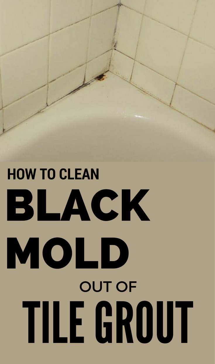 How To Clean Black Mold Out Of Tile Grout