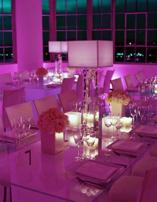 Wedding night. Also good idea for an elegant restaurant