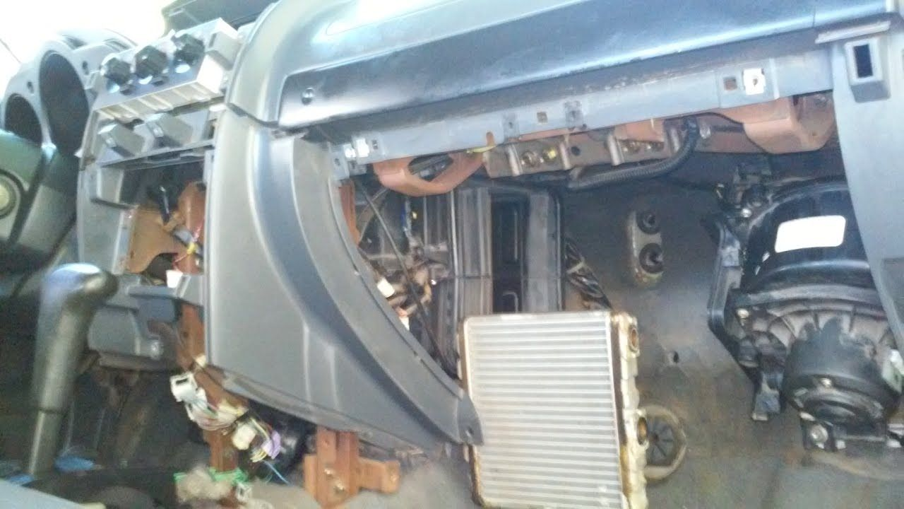 Climate Control Heater Core A/C Evaporator Removal