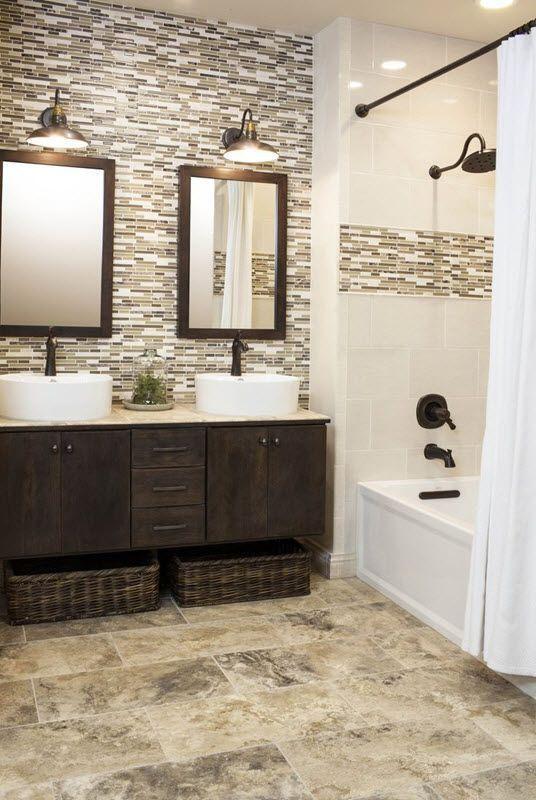 Charming Bathroom Shower Tile Ideas 20 #smallbathroomremodeling
