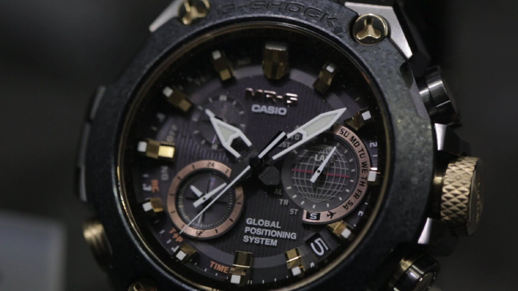 2015 Casio G-Shock Watch Collection - BASELWORLD