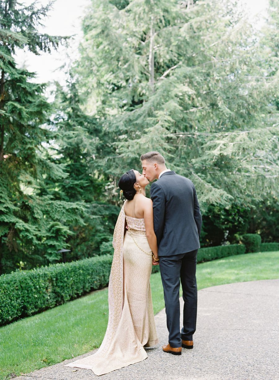 Our Jaws Dropped When We Saw This Thai American Wedding American Wedding Laos Wedding Thai Wedding