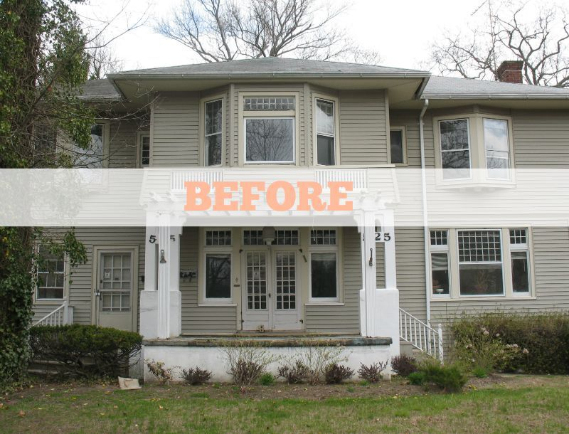 Renovating an American Foursquare in Allenhurst   Foursquare house on prairie style home design, queen anne home design, castle home design, federal home design, art deco home design, modern home design, cottage home design, mediterranean home design, adobe home design, colonial home design, arts and crafts home design, georgian home design, farmhouse home design, sullivan home design, log cabin home design, cape cod home design, shingle style home design, saltbox home design, victorian home design, chalet home design,