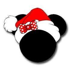 Christmas Minnie Mouse Head.Christmas Disney Christmas Disney Mickey