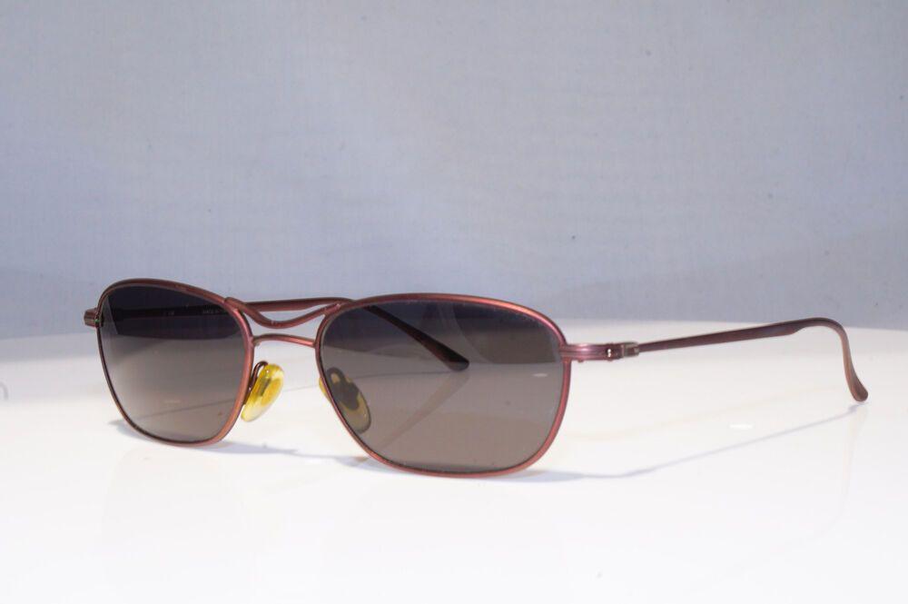 66bd4422530a0 eBay  Sponsored GUCCI Mens Vintage 1990 Designer Sunglasses Brown Rectangle  GG 1618 6ZB 18897