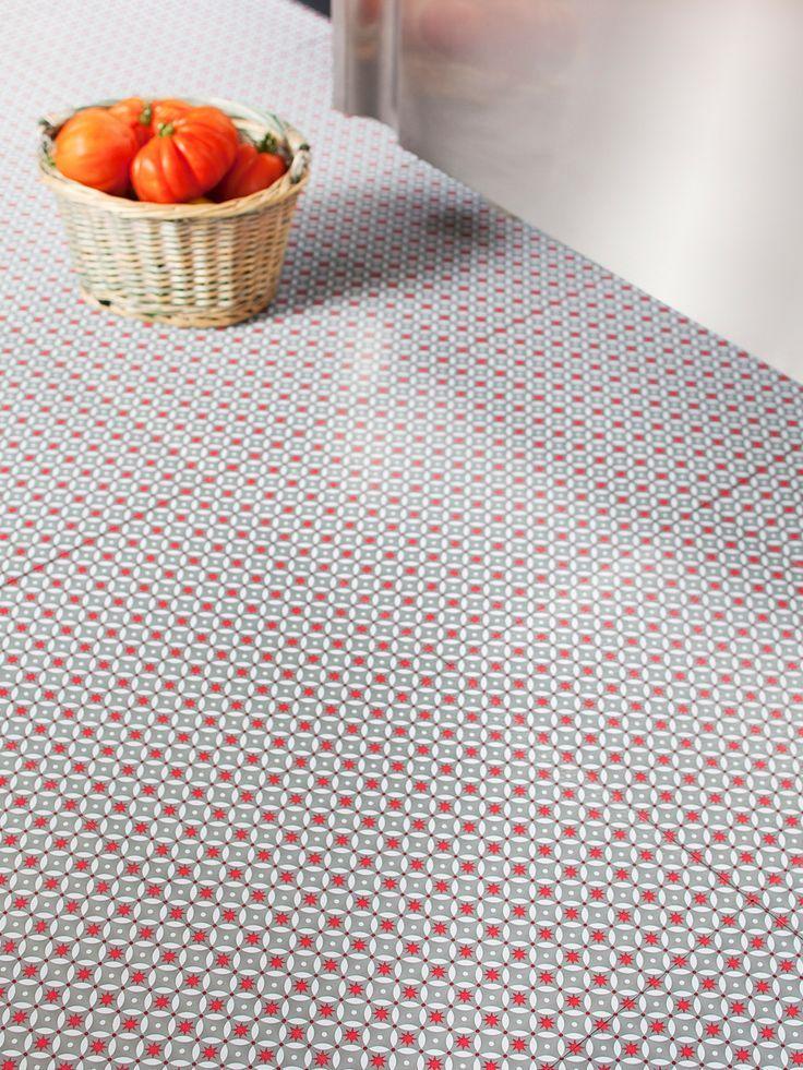 Dalles Pvc Red Stars Atw Tiles Pinterest Vinyl Flooring