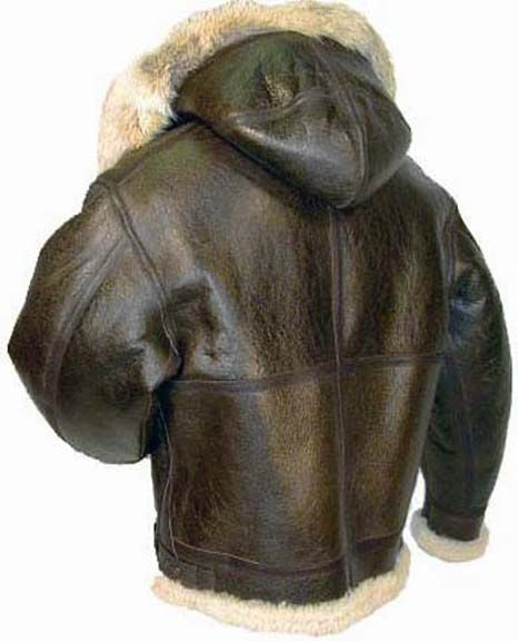 Cockpit Hooded B-3 Sheepskin Bomber Jacket | Style...for Men ...