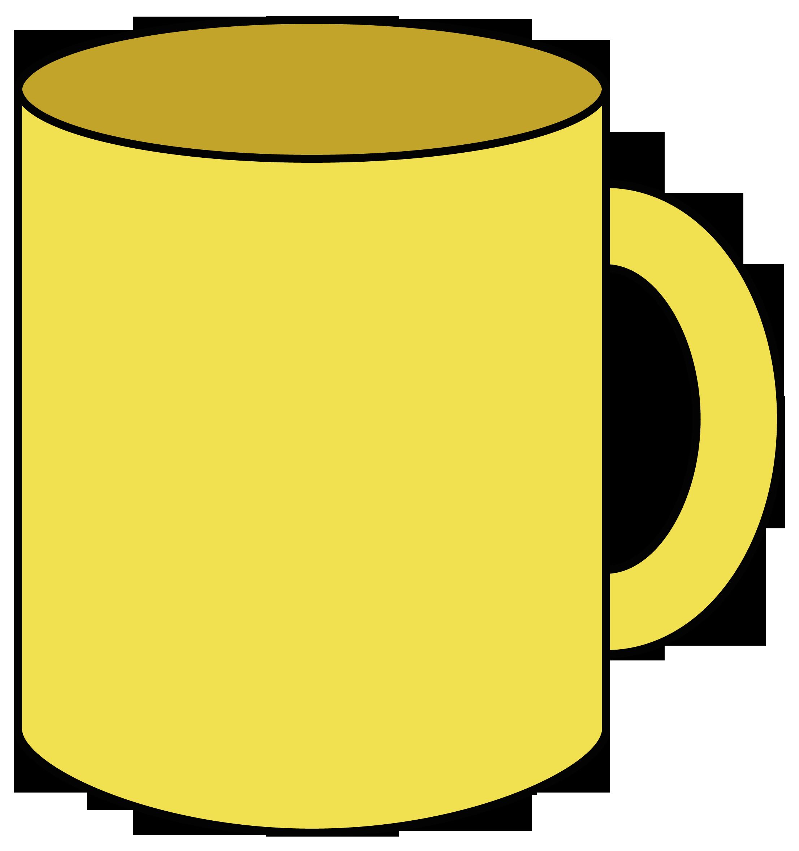 Картинка кружка нарисованная