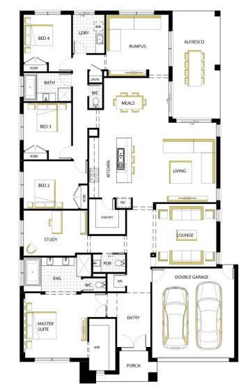 diseos de casas de una planta modernos modelos de fachada y planos de las viviendas
