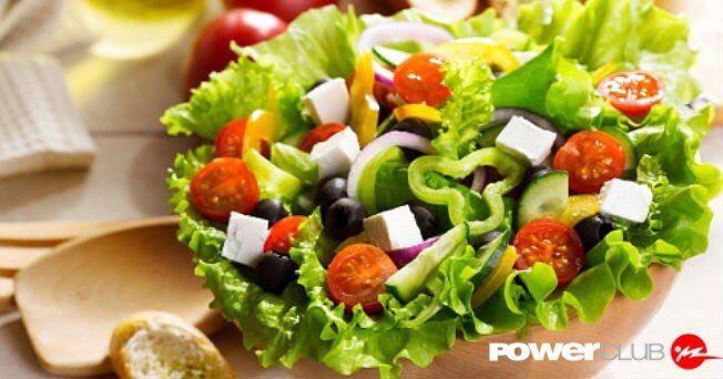 Acompaña tus comidas con ensalada @powerclubpanama #YoEntrenoEnPowerClub #ComeSano
