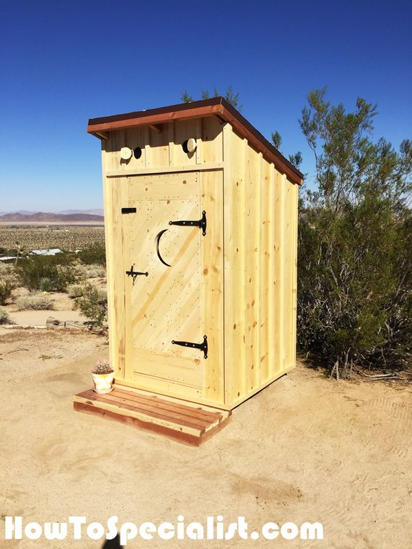 Diy Outhouse Diy Plans Building An Outhouse Outhouse