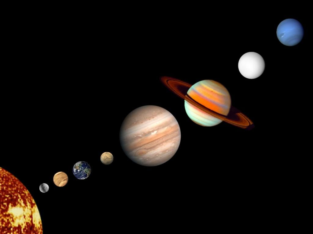 pictures of each planet in the solar system   name the ...