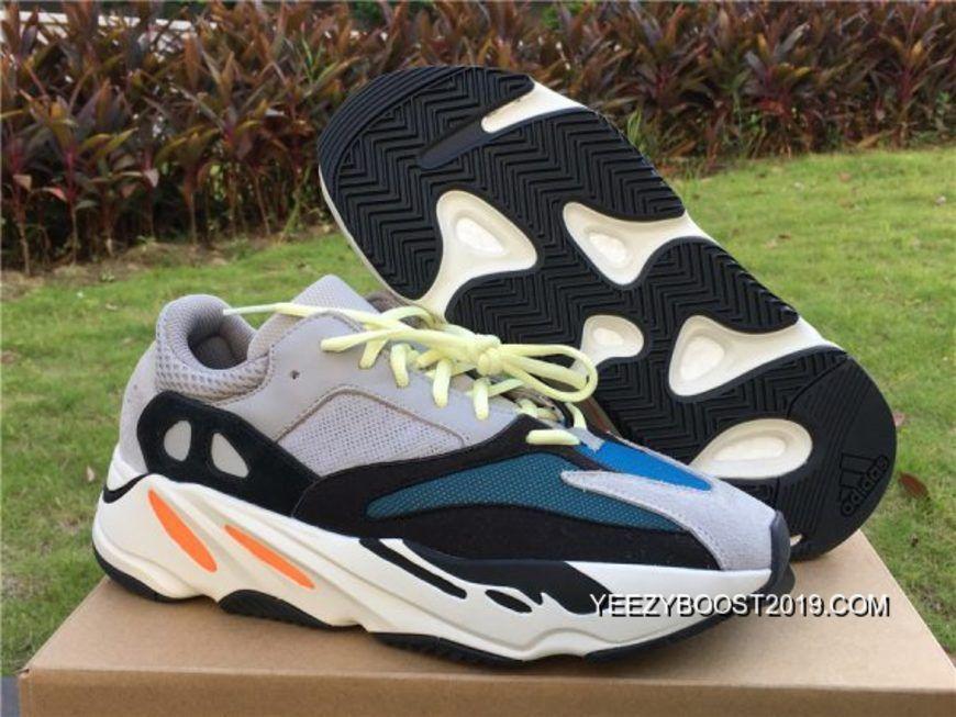 Nehmen Billig Deal Yeezy Wave Runner 700 Weiß Schuhe Boost Billig Grün