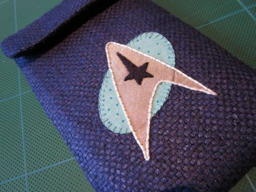 Communicator Cosy - PURSES, BAGS, WALLETS  - Knitting, sewing, crochet, tutorials, children crafts, jewlery, needlework, swaps, papercrafts, cooking and so much more on Craftster.org