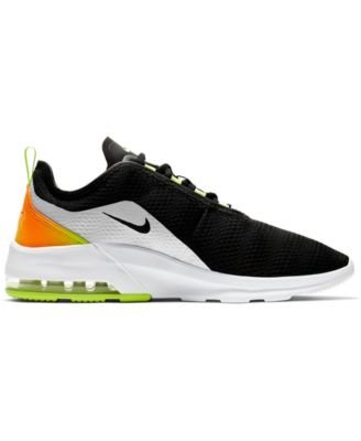 buy popular 5af84 eb19a Nike Men s Air Max Motion 2 Casual Sneakers from Finish Line - Black 11.5