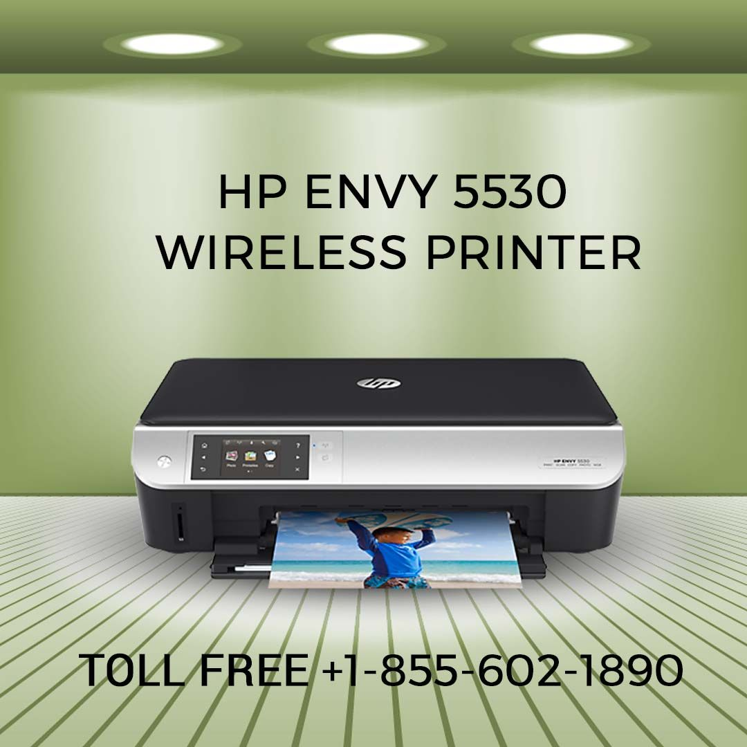 Connect Linux to Wireless Printer HP Envy 5530 Wireless