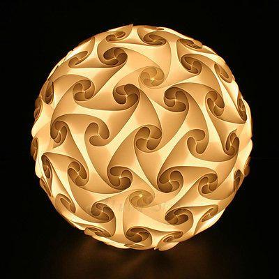 Gaiashine 120 Elements Jigsaw Puzzle Lights Lamp Lampshade Infinity Game Diy Us Puzzle Lights Lamp Cheap Lamp Shades