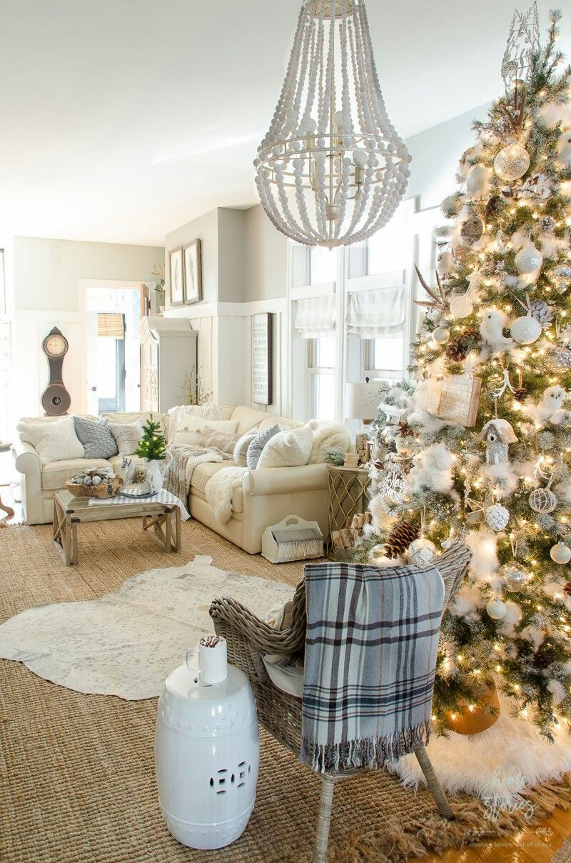 Pin by Isis Leiby on Decor    Christmas   Pinterest   Living rooms