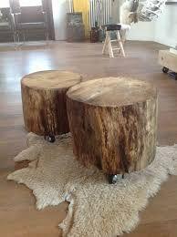 Spiksplinternieuw Afbeeldingsresultaat voor boomstam bijzettafel maken (met SX-41