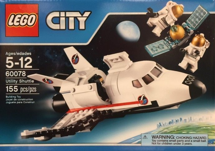 Lego City Space Utility Shuttle 60078 Brand New In Hand 2015 Juguetes Construir Lego