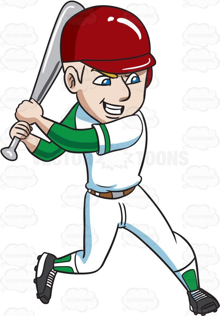 A Baseball Player About To Aggressively Hit A Ball Kids Playing Baseball Baseball Players Play Baseball