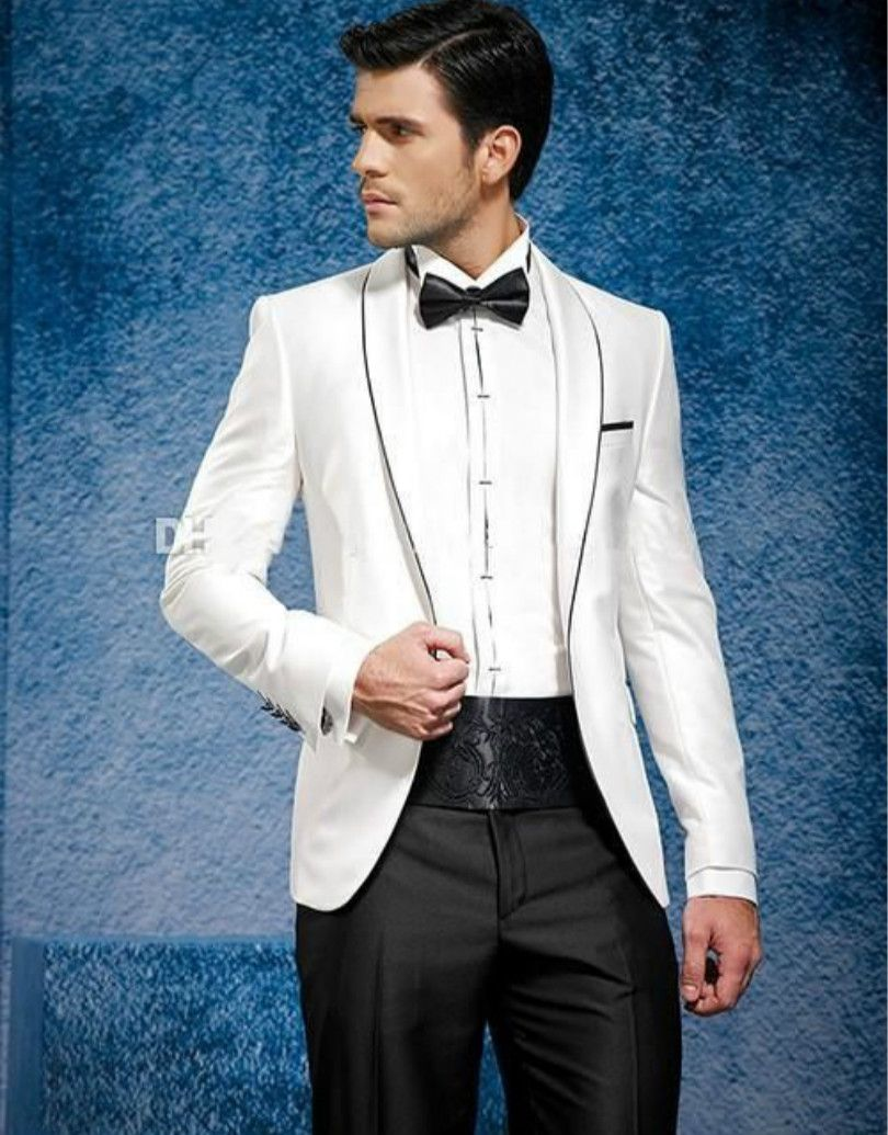 Click to buy ucuc groom wedding suits for custom made suit men