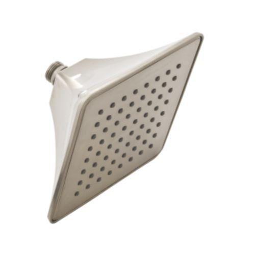 "Mirabelle MIRSH2060E Sophistispa Single Function 6"" Square Shower Head Brushed Nickel Showers Shower Heads Rain Shower"