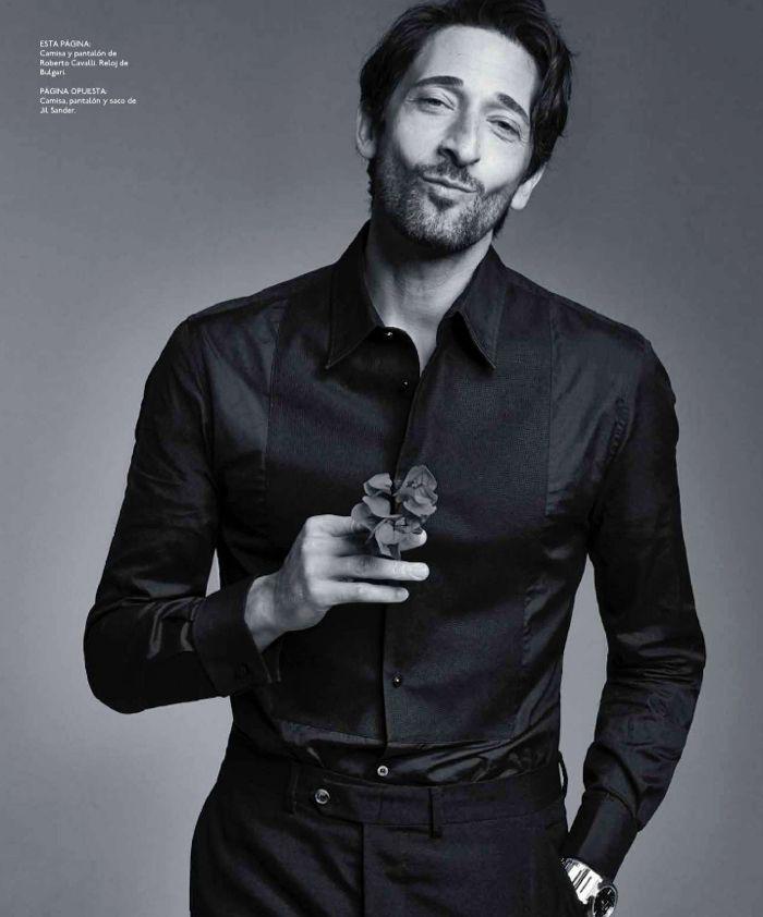 adrien brody big black book photos 007 Houdini Star Adrien Brody for Esquire   The Big Black Book Mexico