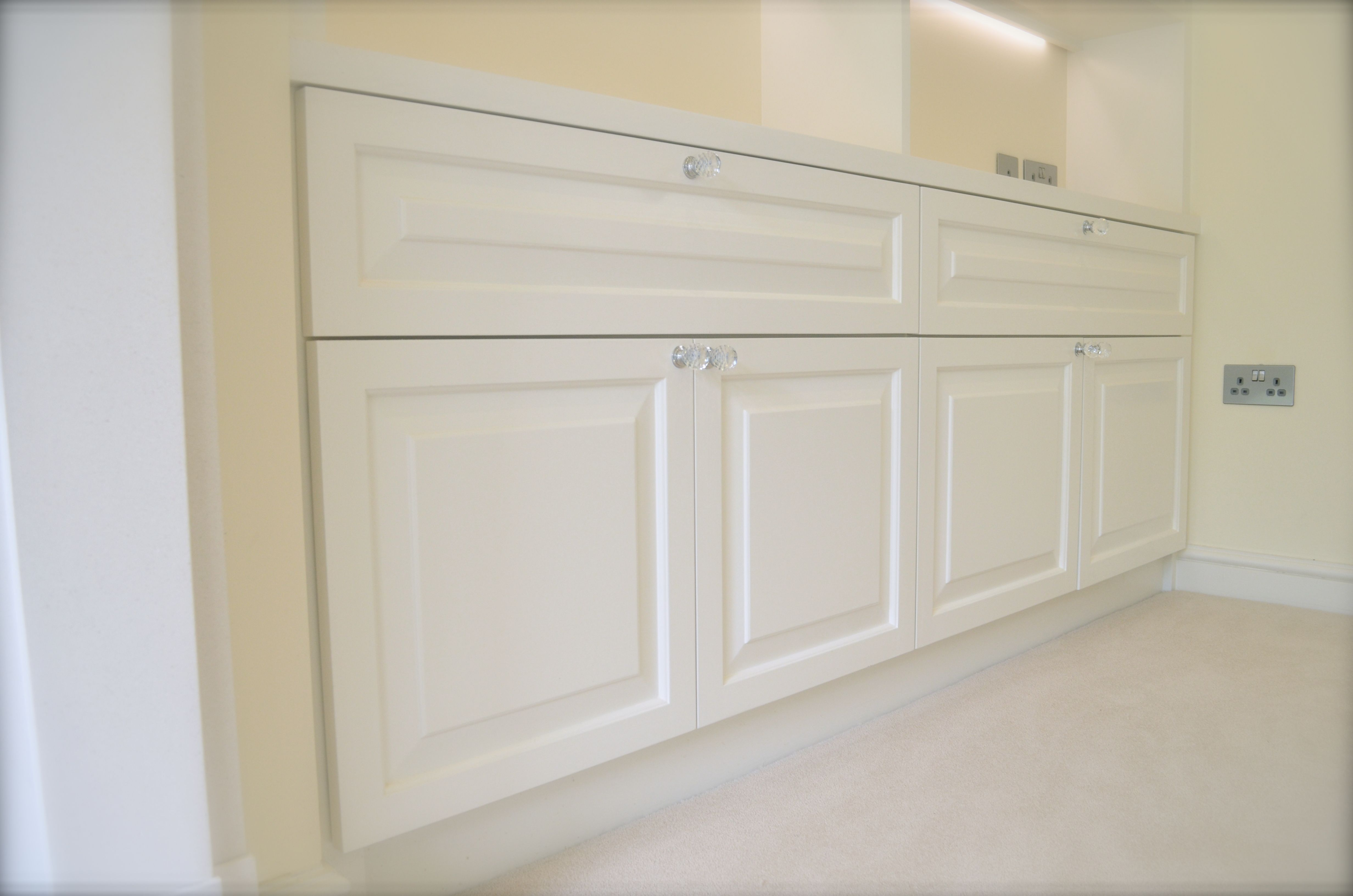 Raised And Fielded Cupboard Doors With Ovolo Reveal And Chamfers Made From Hardwood Tulipwood Aka Poplar Hand Pai Cupboard Doors Wimborne White Panel Doors