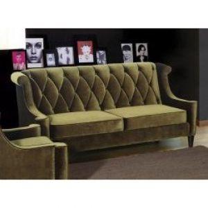 E Living Barrister Sofa Velvet Green