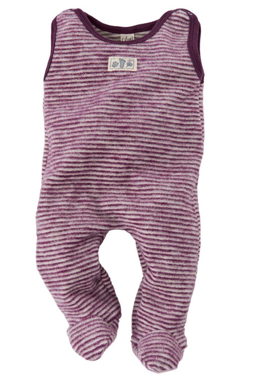 100/% Wolle Lilano kbT Baby//Fr/ühchen Strampler mit Fu/ß