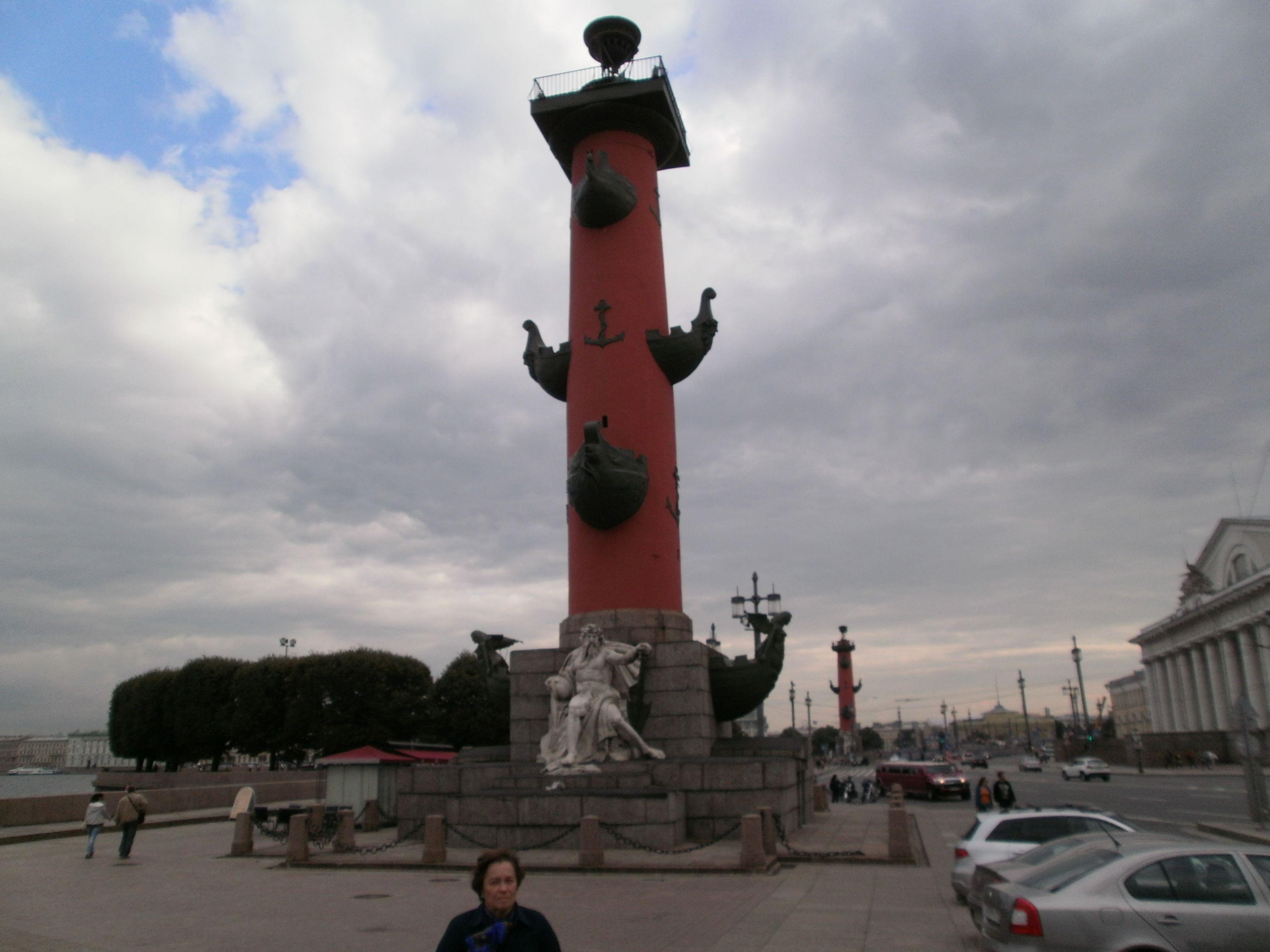 Columnas rostrales - Isla Vasilevski