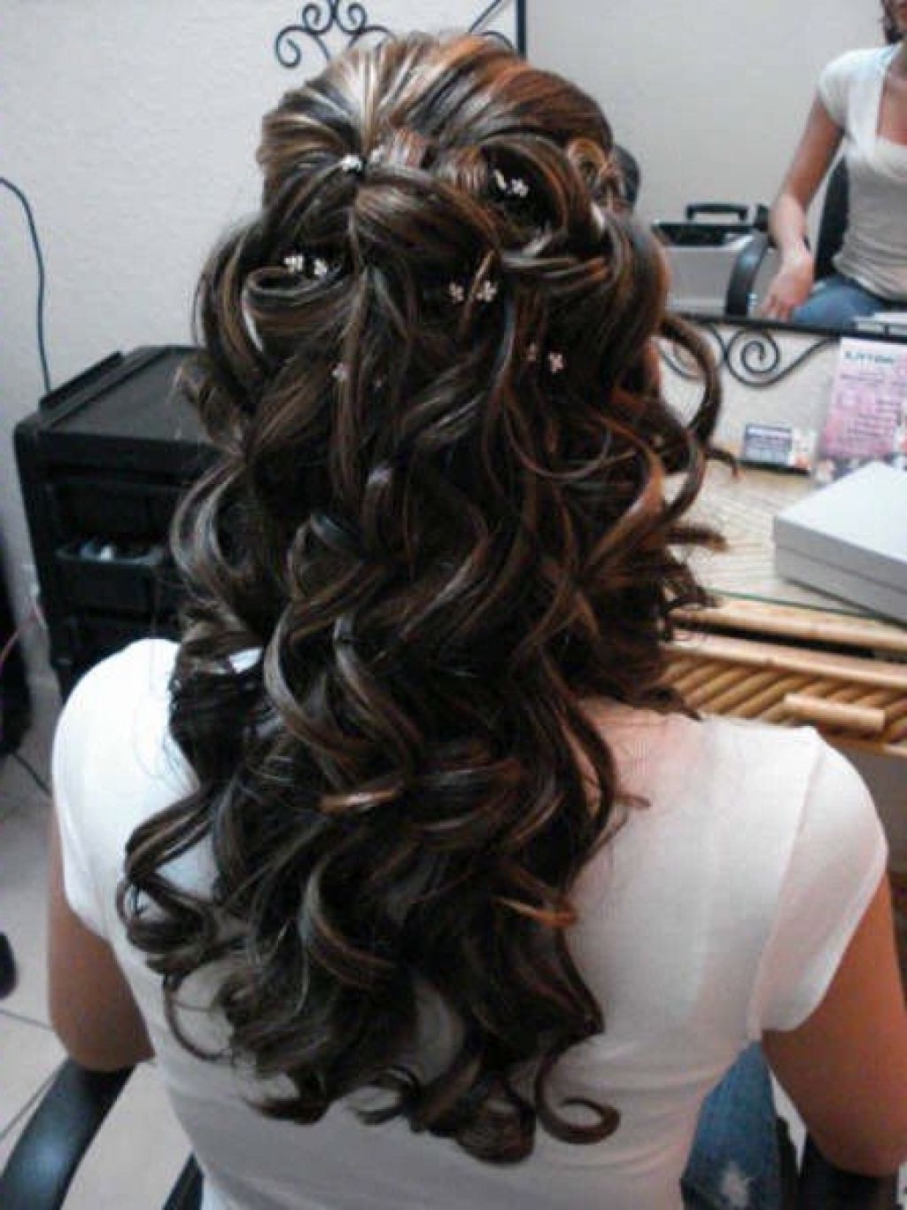 Bridal Hairstyles Down Curly | Trend Hairstyle and Haircut Ideas