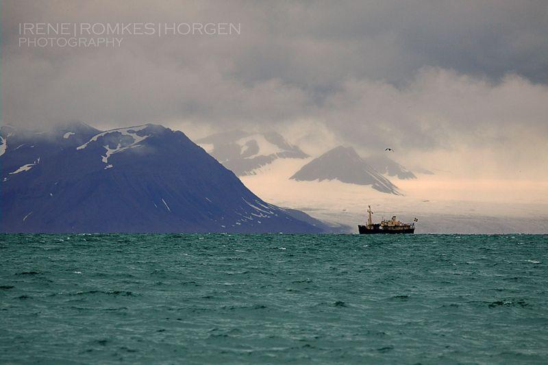 IRENE ROMKES HORGEN: På tur med MS Langøysund