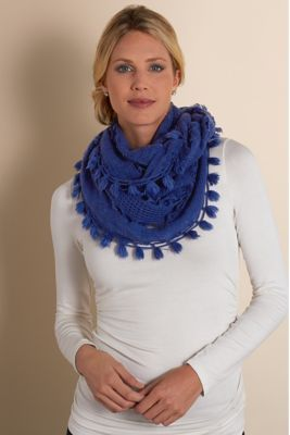 On the Fringe Eternity Scarf from Soft Surroundings