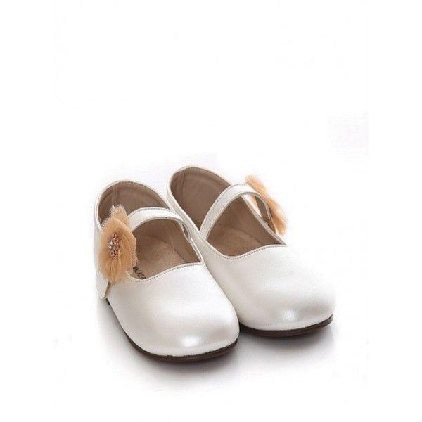 Παπούτσια βάπτισης Babywalker διακοσμημένα με λουλούδια και πέρλες σε  οικονομική τιμή b890136c201
