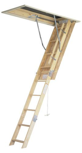 8 Wood Attic Ladder