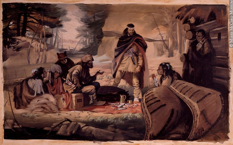 In the fur trade Aboriginals and Mtis were the mapmakerstrappers