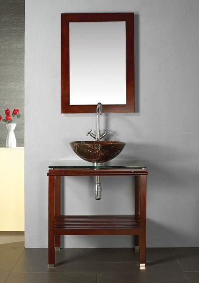 Simple Bathroom Vanity 1