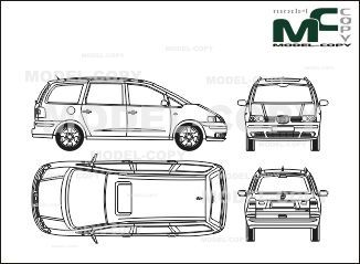 Seat alhambra 1999 blueprints ai cdr cdw dwg dxf eps gif seat alhambra 1999 blueprints ai cdr cdw dwg malvernweather Images