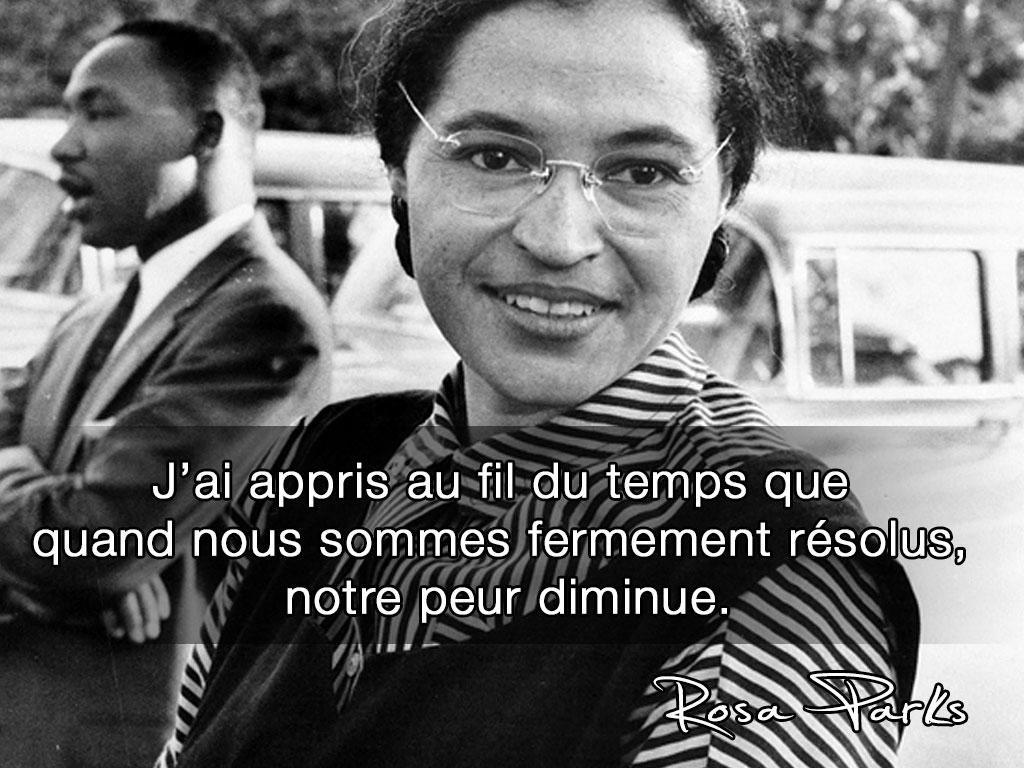 Rosa Parks Citation Proverbe Nature Et Proverbes Et Citations