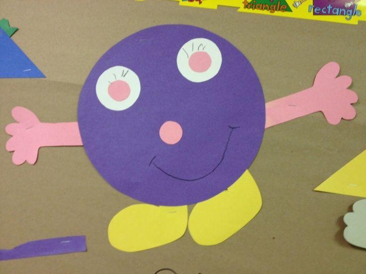 Shapes Craft Idea For Kids Crafts And Worksheets For Preschool Toddler And Kindergarten Preschool Crafts Circle Crafts Preschool Shapes Preschool